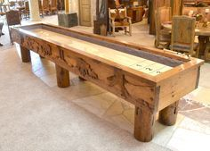 Building our own shuffleboard table plans needs to be adjusted with the adequate space. If we have the time and feel able to build it our self, it can
