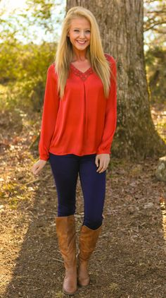 Oh So Lovely Blouse-Sienna - $44.00