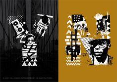 Die Illustratoren - Stil - Kalligrafie/Typo