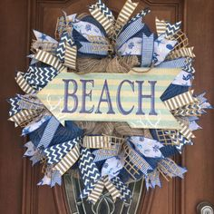 wreaths pin beachcomber wreath rope brilliant doors door coastal hanger like themed swag beach the ideas and