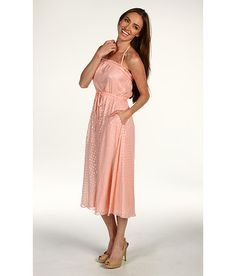 NWOT Halston Heritage Peasant Halter Dress `Bisque/Silver` Size 4 on eBay!