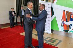 Awesome Photos:President Obama and Uhuru at Kasarani