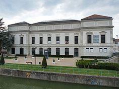 Le Musée de l'impression sur étoffes, côté canal