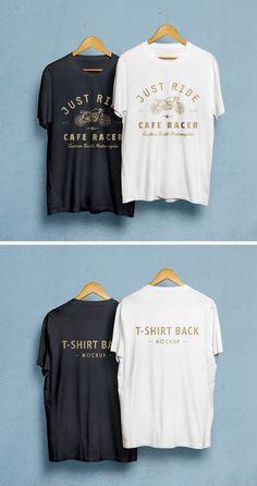 Man T-Shirt MockUp PSD
