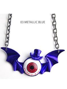 EYEBALL KID Original Necklace Available at: http://www.cdjapan.co.jp/apparel/new_arrival.html?brand=LIS