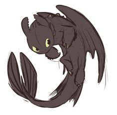 Lil toothless doodle