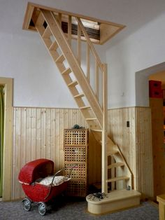 80 amazing loft stair for tiny house ideas escaleras лестниц Tiny House Loft, Tiny House Stairs, Tiny House Storage, Loft Stairs, Best Tiny House, Tiny House Living, Tiny House Plans, Tiny House Design, Tiny Houses