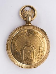 A. Andrews 14k Yellow Gold Hunting Case Pocket Watch