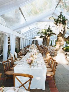 Romantic Garden Wedding #weddingreception #gardenwedding