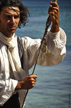 Aidan Turner in Poldark, BBC.