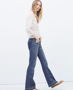 FLARED 70S JEANS-View all | ZARA United States