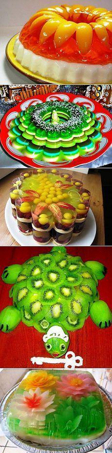 Желе рецепт – это прекрасный десерт, причём не только для детей! .