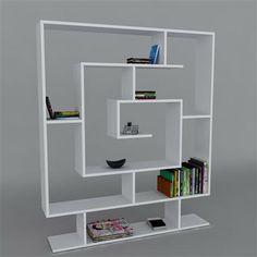 Sarmasik Book Case White