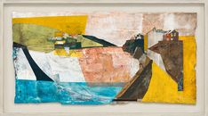 Tintagel to Lulworth Cove Contemporary Landscape, Abstract Landscape, Landscape Paintings, Landscapes, Lulworth Cove, Memories Faded, South West Coast Path, Mark Making, Geology