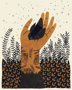 Brown Illustration by Kelsey Oseid