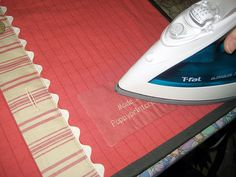 Fusible quilt labels made easy
