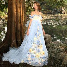 ウェディングドレス_ウエディングドレス_Aライン_エンパイア(c118)二次会ドレス|ROOM