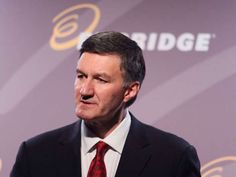 Enbridge Inc suspends regulatory process for delayed $2.6-billion Sandpiper pipeline project - Al Monaco, president and CEO of Enbridge, said in a statement that the Bakken Pipeline investment will begin to pay dividends immediately when it's ready for service later this year (Photo: Mike Ridewood/The Canadian Press) - via National Post
