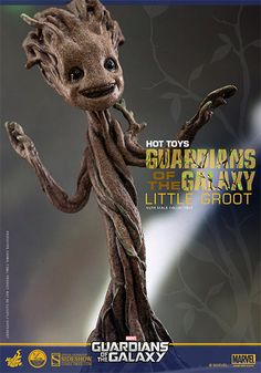 Marvel Little Groot Quarter Scale Figure by Hot Toys   Sideshow Collectibles