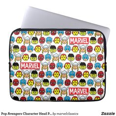 Shop Pop Avengers Character Head Pattern Mouse Pad created by marvelclassics. Personalize it with photos & text or purchase as is! Neoprene Laptop Sleeve, Laptop Sleeves, Iron Man Spiderman, Avengers Characters, Computer Sleeve, Green Goblin, Custom Laptop, Custom Mouse Pads, Comic Styles