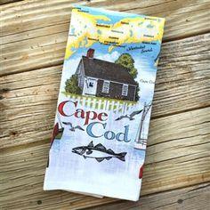 Cape Cod Souvenir Linen Towel | LaBelle's General Store