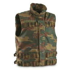 Belgian Military Vest
