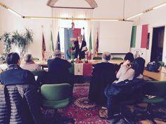 L'incontro con la stampa e gli operatori del settore turismo. Febbraio 2015