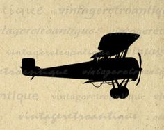 Airplane Svg Clipart Silhouette Airplane And Aircraft Vector Files