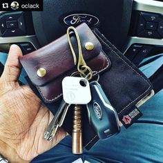 Thanks for the share! #Repost @oclack  Still plenty of Chromexcel leather snap wallets and brass key hooks available over at @odinleather for your Father's Day gifts. They ship out the same day you order.  #LeatherGoods #MadeinTexas #OdinLeatherGoods #Leather #Texas #Handmade #Custom #Gifts #Dallas #instadfw #instadallas #DFW #tiledit  www.thetileapp.com