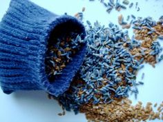 eco alternative to dryer sheets -- lavender and flaxseed