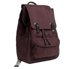 The Canvas Snap Backpack from Everlane $65