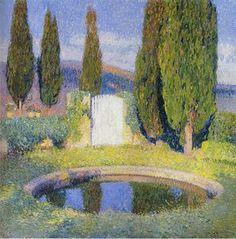 Marokkanische Landschaft Laubverzierung , öl von Henri Matisse (1869-1954, France)