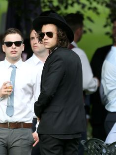 Harry Styles at Jay and Dan's wedding - 20.07.2014