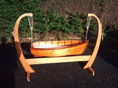 Hand made Baby Boat Crib by robynwilliams2 on Etsy. $800.00 USD, via Etsy.
