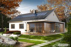Projekty domów ARCHIPELAG - Emi
