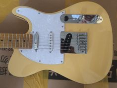 153.00$  Watch here - http://aligcp.shopchina.info/1/go.php?t=32812469739 - Electric guitar TL 3 pickups guitar/yellow color electric guitar/guitar in china  #buyonline