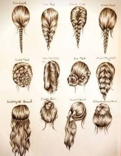 These are some cute easy hairstyles for school, or a party…. These are some cute easy hairstyles for school, or a party…. These are some cute easy hairstyles for school, or a party. Easy Hairstyles For School, Diy Hairstyles, Fashion Hairstyles, Hairstyle Ideas, Drawing Hairstyles, Wedding Hairstyles, Hair Styles For Long Hair For School, Cute Hairstyles For Medium Hair, Latest Hairstyles