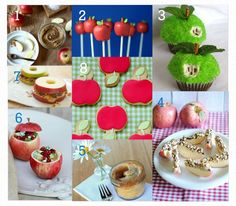 Apple Party Food Ideas - www.lovethatparty.com.au #apple #birthday #party foods