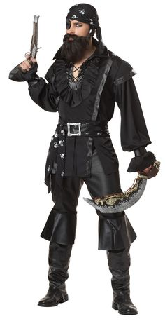 Plundering Pirate Mens Pirate Halloween Costume   $52.99   The Costume Land