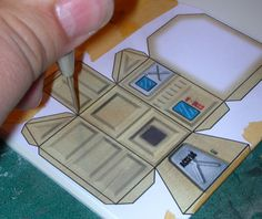 Constructing Styrene Buildings from Papercraft Templates | Eviscerate
