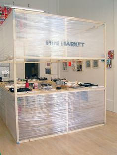 Nice idea. Mini Market: The Pop Up Art Department Store