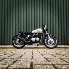 1973 Honda CB500 Cafe Racer - My very own :) #cafe #racer #caferacer #caferacersofinstagram #caferacerculture #honda #hondacb500 #cb500 #cb500k #bike #motorbike #motorcycle #custom #custombike #vintagebike #classic #classicbike