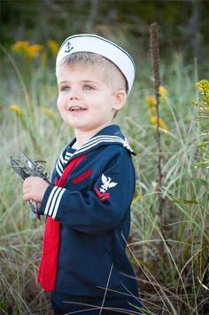 Vintage Sailor Boy