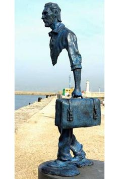 Sculptures with missing pieces by Bruno Catalano (his big thing). They look great outdoors! Original Source: http://brunocatalano.com/