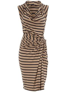 hips, striped jersey dress. $44.