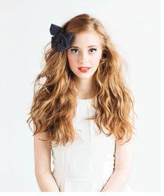 Girly hair grip