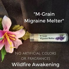 Aromatherapy Lotion Stick for Headaches, M-Grain Lotion Stick