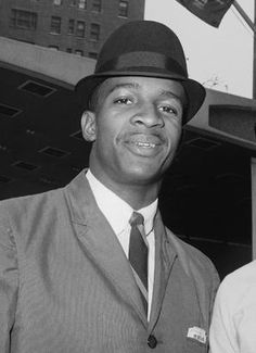 """""""Civil Rights Figure James Hood Dead at 70 - In this June 9, 1963 photo, James A. Hood poses in New York. Hood, one of the first black students at the University of Alabama, died at age 70 on Jan. 17, 2013. Hood was thrust into the national spotlight during a long fight to attend college in his home state of Alabama at the height of the civil rights movement. Alabama was the last state to integrate its education system. (John Lindsay/AP Photo)"""""""