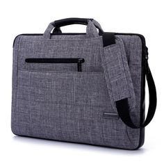 HAINES Brand New 14.6 15.6 Inch Notebook Computer Laptop Sleeve Bag Men  Women Cover Case Briefcase a4901853bc