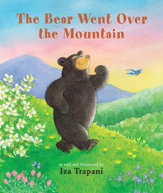 The Bear Went Over the Mountain by Iza Trapani reviewed by Katie Fitzgerald @ storytimesecrets.blogspot.com